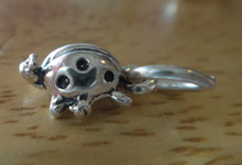 Small 8x12mm Ladybug Bug Insect Sterling Silver Charm