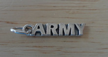 Military says Army Sterling Silver Charm