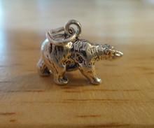 Sterling Silver 3D 4.5 gram Polar Bear Zoo Animal Charm