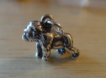 Sterling Silver 3D 10x13mm solid Gorilla Baboon Monkey Charm