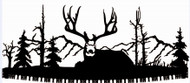 Sitting Deer Crosscut Saw