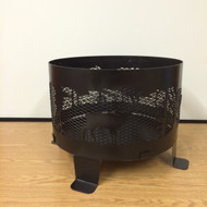 """Ring Fire Pit 24"""" With Base"""