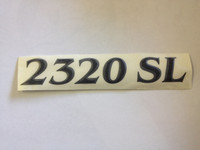 2320 SL HULL DESIGNATION DECAL