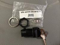 LATCH - GLOVE BOX LOCK & KEY BLK.- FUSE DOOR LATCH