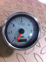 "TACHOMETER 4"" 6000 RPM WITH HOUR METER / THC015"