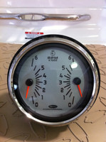 "TACHOMETER DUAL ENGINE  5"" TCC010 - Sorry this gauge is no longer available"