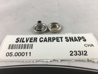CARPET SNAPS STAINLESS STEEL ( BAG OF 10 ) 05.00011