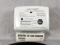DETECTOR - CO 12v DC HARDWIRED - 17.00052