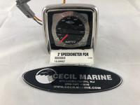 """3"""" SPEEDOMETER FOR MERCRUISER ENGINE"""
