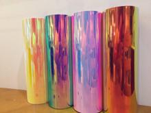 """Styletech Opal Iridescent  Vinyl Sheets 12"""" x 12"""""""