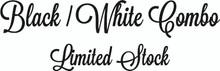 Super Combo 5' Black / 5' White Siser Easyweed HTV