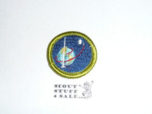 Space Exploration - Type H - Fully Embroidered Plastic Back Merit Badge (1972-2002)