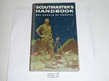 1967 Scoutmasters Handbook, Fifth Edition, Ninth Printing, Near MINT Condition but back cover shows wear, Norman Rockwell Cover