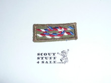 Eagle Scout Award Knot on Khaki, 1947-1983