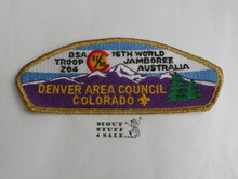 1987-88 World Jamboree JSP - Denver Area Council