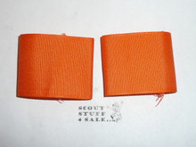 Varsity Program Orange Uniform Epaulets, set