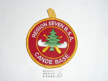 Region Seven Explorer Canoe Base Patch with button loop