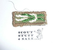 Scoutmaster's / Scouter's Key on Khaki, 1946-1983, used