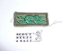 Scouter's Training Award Knot on Khaki, 1946-1983, used