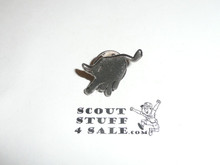 Philmont Scout Ranch, Pewter Color Bull Lapel Pin