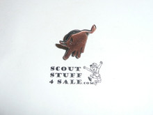 Philmont Scout Ranch, Copper Color Bull Lapel Pin
