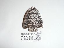 Philmont Scout Ranch, Copper Color Arrowhead Pin