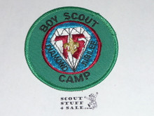 75th BSA Anniversary Patch, Boy Scout Camp