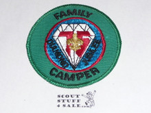 75th BSA Anniversary Patch, Family Camper