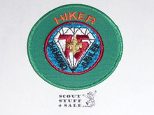 75th BSA Anniversary Patch, Hiker