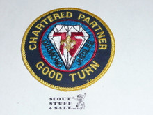 75th BSA Anniversary Patch, Chartered Partner