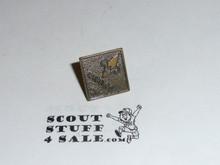 "Webelos ""WEBELOS"" Cub Scout Rank Pin, bronze"