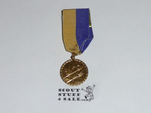 Cub Scout Gold Space Derby Medal