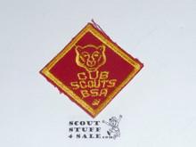 Bear Cub Scout Rank, twill