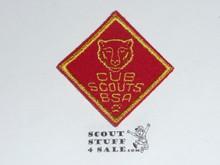 Bear Cub Scout Rank, felt