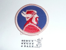 Viking Patrol Medallion, Twill with paper back, 1972-1989