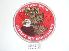 Section / Area W5B Order of the Arrow Conference STAFF Patch, 2002