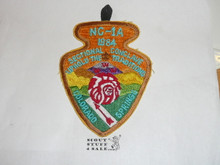 Section / Area NC1A Order of the Arrow Conference Patch, 1984