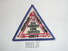 Section / Area NC1A Order of the Arrow Conference Patch, 1976