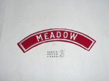 MEADOW Red/White Boy Scout Community Strip