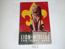 1961 Lion Cub Scout Handbook, 11-61 Printing, Near MINT
