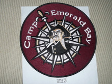 2007 Camp Emerald Bay Large Jacket Patch