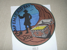 2006 Camp Emerald Bay Large Jacket Patch
