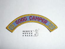 1959 Camp Emerald Bay Good Camper Segment Patch