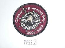 2007 Camp Emerald Bay STAFF Patch