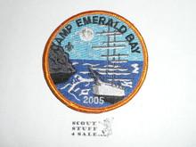 2005 Camp Emerald Bay STAFF Patch