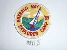 1959 Camp Emerald Bay Explorder Camp Patch