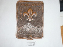 1967 Boy Scout World Jamboree Leather Patch