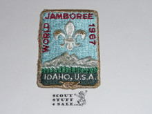 1967 Boy Scout World Jamboree Patch