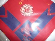 1937 National Jamboree Red Leader Neckerchief, Full Square