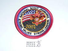2001 National Jamboree Youth Patch
